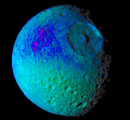 mimas-crater